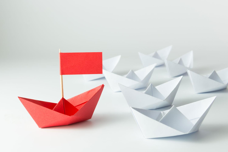 origami boater